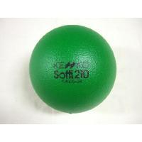 S210ケンコー:ソフティボール:グリーン ソフティボール:グリーン:素材:表/ 特殊樹脂コーチング...