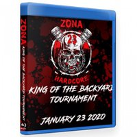 Zona-23 ブルーレイ「King Of The Backyard Tournament」(2020年1月23日メキシコ・メキシコシティ)米直輸入盤《日本盤未発売》ジャンクヤードルチャ
