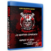Zona-23 ブルーレイ「La Guerra Comienza」(2020年3月15日メキシコ・メキシコシティ)米直輸入盤《日本盤未発売》ジャンクヤードルチャ