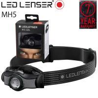 最大7年保証 LEDLENSER レッドレンザー MH5 (乾電池または専用充電池)ハイブリッド式LEDヘッドランプ トレッキング シンプル操作ヘッドライト あすつく対応