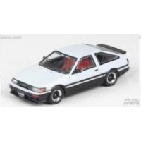 新品 IN64-AE86-WH イノモデル 1/64 トヨタ カローラ レビン AE86 ホワイト/ブラック