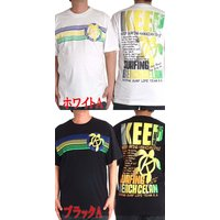 大きいサイズ メンズ Tシャツ 半袖 サーフ 夏 Keep Surfing 3L 4L  17029KG