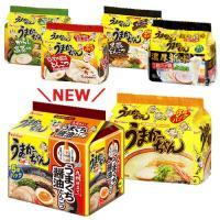 ラーメン ハウス うまかっちゃん6種各5個 食べくらべ 味くらべ 濃厚新味 鹿児島 熊本 博多 レギュラー 復刻版