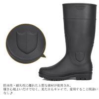 雨の日の強い味方。紳士用レインブーツ。 防水性 耐久性に優れた上質な素材が使用され、 履き心地よいだ...