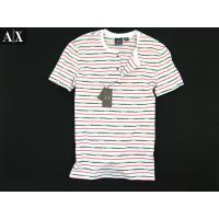 ARMANI EXCHANGEアルマーニエクスチェンジ ヘンリーネックボーダーTシャツ  商品説明 ...