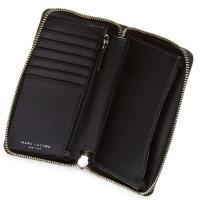 マークジェイコブス スマートフォンウォレット MARC JACOBS  Leather Phone Wristle (Grey) リストレット ウォレット 財布 (マルチ)