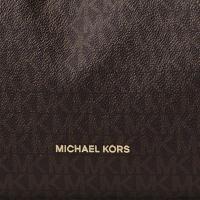 マイケルコース ショルダーバッグ Michael Michael Kors  Raven Logo Shoulder Bag (BROWN) ロゴ ショルダーバッグ (ブラウン)