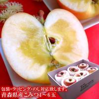 りんご こみつ 青森県産究極の蜜入りリンゴ♪[こみつ5〜6玉ギフト]【お歳暮】送料無料