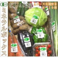 ミネラルボックス 有機JAS野菜詰め合わせAコース(青森県 はまなす生産組合)無農薬オーガニック野菜セット・送料無料・クール便無料