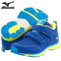 「ミズノ(MIZUNO) 子供靴(キッズシューズ) ハグモック ブルー 17.0cm」は、子どもの足...