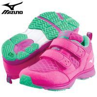 「ミズノ(MIZUNO) 子供靴(キッズシューズ) ハグモック ピンク 17.5cm」は、子どもの足...