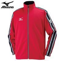 「ミズノ(MIZUNO) ジャージ ウォームアップシャツ 32JC6003 チャイニーズレッド S」...