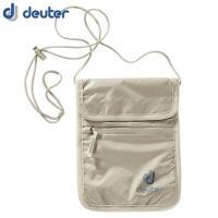 「deuter(ドイター) セキュリティーワレットII サンド」は、薄く、軽量で、柔らかい生地ででき...