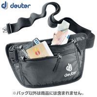 「deuter(ドイター) セキュリティマネーベルトI ブラック」は、長さ調節が可能なベルトで衣類の...