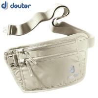 「deuter(ドイター) セキュリティマネーベルトI サンド」は、長さ調節が可能なベルトで衣類の上...