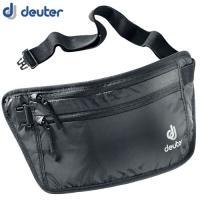 「deuter(ドイター) セキュリティマネーベルトII ブラック」は、長さ調節が可能なベルトで衣類...