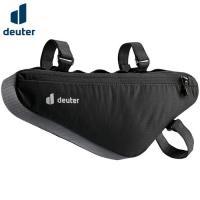 「deuter(ドイター) トライアングルバッグ」は、自転車の前三角フレームの上管と立管に固定して取...