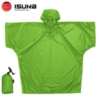 「イスカ(ISUKA) ウルトラライト シリコン ポンチョ グリーン」は、コンパクトに収納可能な30...