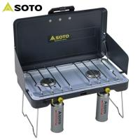 「ソト(SOTO) ハイパワー2バーナー ST-525」は、従来のように1本のボンベから1つのバーナ...