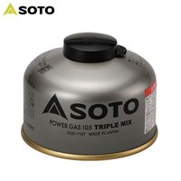 「ソト(SOTO) パワーガス105トリプルミックス SOD-710T」は、プロパン、イソブタン、ノ...
