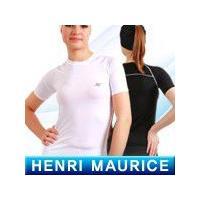 在庫処分大特価 HENRI MAURICE アンダーウェア 半袖  女性用 |fuerzajapan