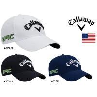 Callaway パフォーマンスプロ キャップ 帽子  サイドにAPEX、EPIC、ツバにCHROM...