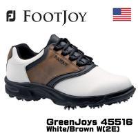 FOOTJOY GreenJoys 45516 ゴルフシューズ USモデル   アウトソールにもクッ...