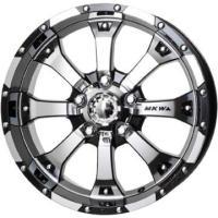 MKW MKW MK-468.00-16FR:6H/139 +17〜+17ダイヤカットグロスブラック...