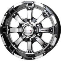 MKW MKW MK-468.00-16FR:6H/139 0〜0ダイヤカットグロスブラックブリザッ...