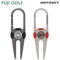 【メール便対応】 Odyssey Carabiner Divot Tool 15 JM オデッセイ カラビナ ディボット ツール 15 JM グリーンフォーク