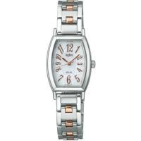 セイコー アルバ腕時計 アンジェーヌ ソーラー レディースAHJD052