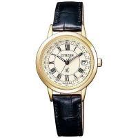 <シチズン電波ソーラー腕時計 クロスシー ティタニア ライン ハッピーフライトモデル> ...