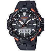 <カシオ腕時計 プロトレック ソーラー電波時計> ・刻々と変化する自然の情報を感知するト...
