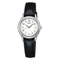 <セイコー腕時計 スピリットクォーツ> 品仕様 シンプルで落ち着いたデザインの革バンドモ...