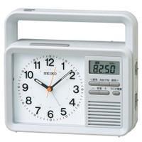 [CLOCK] セイコー KR885N  スマートフォンへの充電にも対応  生活防水仕様の手回し充電...