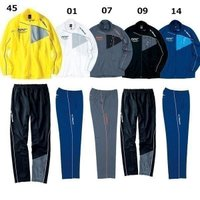 ☆スポーティな切替のN-XTウォームアップシャツパンツ  ■カラー 01ホワイト×グレー×ブルー 0...