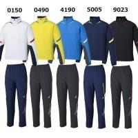 ☆バッククール搭載のストレッチクロストレーニングジャケットパンツ  ■カラー 0150ホワイト×ネイ...