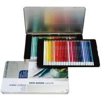大人の塗り絵にも☆耐光性・水溶性に優れた高品質の水彩色鉛筆。