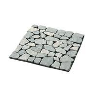 雑草防止シート付きのおしゃれな天然石マット