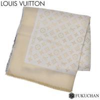 【商品名】LOUIS VUITTON      ショール モノグラム シャイン      ストール/...