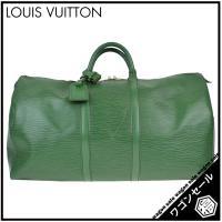 【商品名】 LOUIS VUITTON       エピ キーポル55  【型番】  M42954 ...