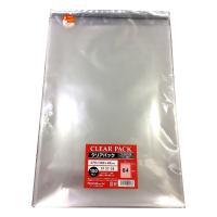 (業務用)クリアパック(OPP袋)テープ付き27×38 B4用 1000枚入(100×10p) 30ミクロン