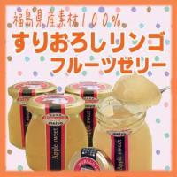 ◆商品名:すりおろしりんごゼリー ◆内容量:100g ◆原材料名:りんご(福島県産)、果糖ブドウ糖液...