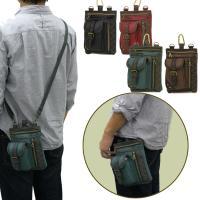 定番のシザーバッグ!!  2WAY仕様になっており、 カラビナでベルトループに引っ掛けて使えるほか、...