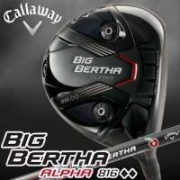 Callaway BIG BERTHA ALPHA 816  【フェース素材、構造】 α+βチタン ...