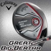 Callaway GREAT BIG BERTHA W3 HEAVEN WOOD W5 【フェース素...