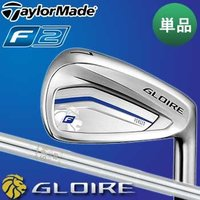 TaylorMade GLOIRE F2  【ヘッド素材/フェース素材(製法)】  【#4〜PW】 ...