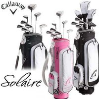 CALLAWAY Solaire GEMS クラブセット 8本セット+キャディバッグ付