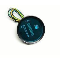 ・12V専用、バイク用デジタルガソリンメーターです。  ・配線:ブラック+、グリーン−、イエローパル...