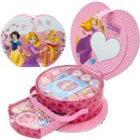 ディズニー プリンセス 子供用 メイクセット  ハートの形がかわいいメイクボックス リップグロスやア...